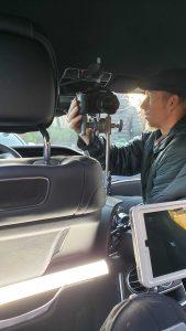 Justin Rigging the Panasonic GH5 Camera
