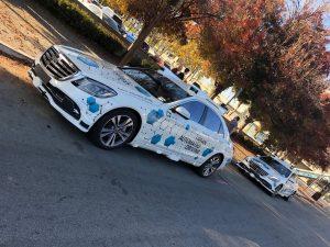 Self Driving Mercedes - San Jose, CA